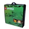 Lego – A1509XX – Accessoire Jeu de Construction – Ninjago Zipbin Battle Case – Vert -Sac de rangement et tapis de jeu