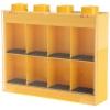 Lego – L005FRA-3 – Accessoire Jeu de Construction – Vitrine Figurines 8 Cases – Jaune – Décoration