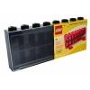 Lego – 106 – Accessoire Jeu de Construction – Vitrine Figurines 16 Cases – Noir – Décoration
