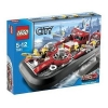 Lego – City – jeu de construction – L'aéroglisseur des pompiers