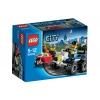 Lego City – 60006 – Jeu de Construction – Le 4×4 de la Police Spéciale