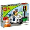 Lego Duplo – Legoville – 5679 – Jouet Premier Age – La Moto de Police