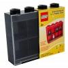 Lego – L005FRA-0 – Accessoire Jeu de Construction – Vitrine Figurines 8 Cases – Noir – Décoration