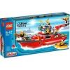 Lego – 7207 – Jeu de Construction – Lego City – Le Bateau des Pompiers