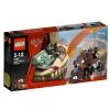 Lego Cars – 9483 – Jeu de Construction – L'Évasion de l'Agent Martin
