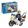 Lego – City – jeu de construction – La moto de police