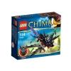 Lego Legends Of Chima – Playthèmes – 70000 – Jeu de Construction – Le Corbeau Planeur de Razcal