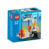 Lego – 8398 – Jeu de construction – Lego City – Le stand barbecue