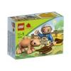 Lego – 5643 – Jeu de Construction – Duplo LegoVille – Le Fermier et Son Cochon