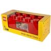 Lego – 9002168 – Accessoire Jeu de Construction – Reveil Brique Geante – Rouge