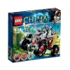Lego Legends Of Chima – Playthèmes – 70004 – Jeu de Construction – Le Tout-Terrain Loup de Wakz