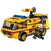 Lego – City – jeu de construction – Le camion des pompiers de l'aéroport