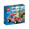 Lego City – 60001 – Jeu de Construction – La Voiture du Chef des Pompiers