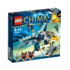 Lego Legends Of Chima – Playthèmes – 70003 – Jeu de Construction – L'intercepteur Aigle d'eris