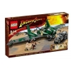 Lego – 7683 – Jeu de construction – Indiana Jones – Combat sur l'Aile volante