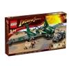 Lego – 7683 – Jeu de construction – Indiana Jones – Combat sur l'Aile volante