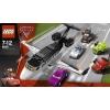 Lego Cars – 8638 – Jeu de Construction – L'Évasion du Jet Espion
