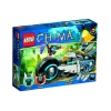 Lego Legends of Chima – Playthèmes – 70007 – Jeu de Construction – Le Roadster d'eglor