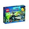 Lego Legends of Chima – Playthèmes – 70007 – Jeu de Construction – Le Roadster d'eglor