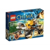 Lego Legends Of Chima – Playthèmes – 70002 – Jeu de Construction – Le Monster Truck de Lennox