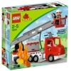 Lego Duplo – Legoville – 5682 – Jouet Premier Age – Le Camion des Pompiers
