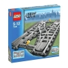 Lego – City – jeu de construction –  Le croisement de rails V29