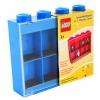 Lego – L005FRA-1 – Accessoire Jeu de Construction – Vitrine Figurines 8 Cases – Bleu – Décoration
