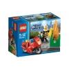 Lego City – 60000 – Jeu de Construction – La Moto des Pompiers