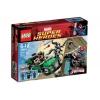 Lego Super Heroes – Marvel – 76004 – Jeu de Construction – La Poursuite en Moto-Araignée – Spider-Man