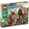 Lego Kingdoms – 7189 – Jeu de Construction – L'Attaque du Village du Moulin