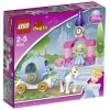 Lego Duplo Princesse – 6153 – Jouet d'Eveil – Le Carrosse de Cendrillon
