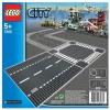 Lego – City – jeu de construction –  Routes droites et Carrefour