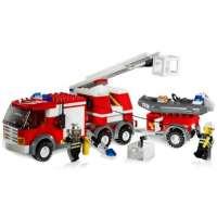 Lego – City – jeu de construction – Le camion des pompiers