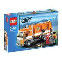 Lego – City – jeu de construction – Le camion poubelle