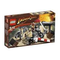 Lego – 7620 – Indiana Jones – Jeux de construction – La course- poursuite à moto