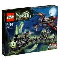 Lego Monster Fighters – 9467 – Jeu de Construction – Le Train Fantôme