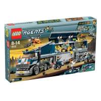 Lego – 8635 – Jeu de construction – Agents – Mission 6: Centre de commandement mobile