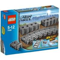 Lego City – 7499 – Jeu de Construction – Rails Flexibles