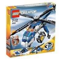 Lego – 4995 – DUPLO LEGOVille – Jeux de construction – L' helicoptère cargo
