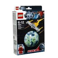 Lego Star Wars – 9674 – Jeu de Construction – Naboo Starfighter et Naboo