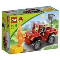 Lego Duplo Legoville – 6169 – Jouet d'Eveil – Le Chef des Pompiers