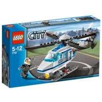 Lego – 7741 – City – Jeux de construction – L'hélicoptère de Police