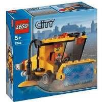 Lego – City – jeu de construction – La balayeuse