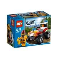 Lego City – 4427 – Jeu de Construction – Le 4X4 des Pompiers en Forêt