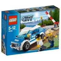 Lego City – 4436 – Jeu de Construction – La Voiture de Patrouille en Forêt