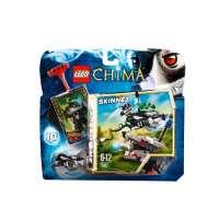 Lego Legends of Chima – Speedorz – 70107 – Jeu de Construction – L'expulsion Chi