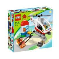 Lego Duplo Legoville – 5794 – Jeu de Construction – L'Hélicoptère de Secours