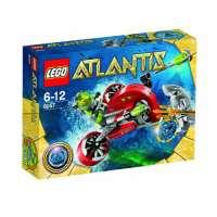 Lego – 8057 – Jeu de Construction – Lego Atlantis – Le Scooter des Profondeurs