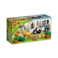 Lego Duplo Legoville – 10502 – Jeu de Construction – Le Bus du Zoo