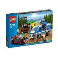 Lego City – 4441 – Jeu de Construction – Le Fourgon du Chien de Police